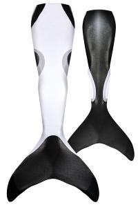Sjöjungfrudräkt Orca för vuxen