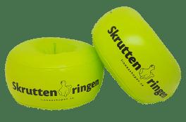 Armkuddar Skruttenringen Lime/Neon Gul