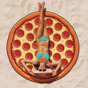 Strandhandduk - Pizza