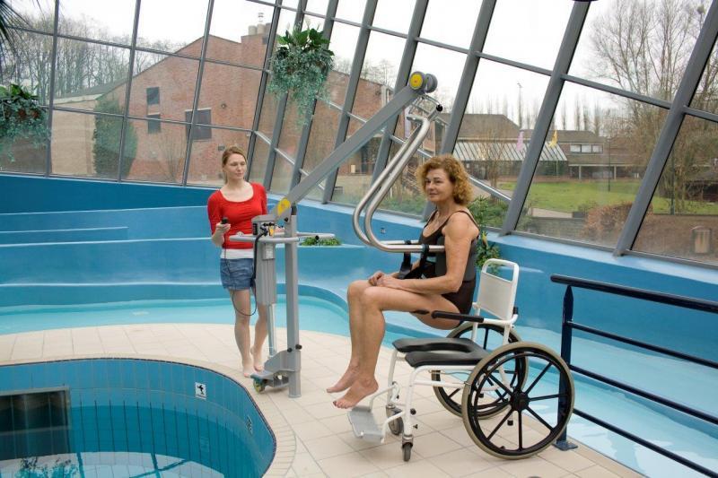 Body support, 1027 Suitable handicap lift