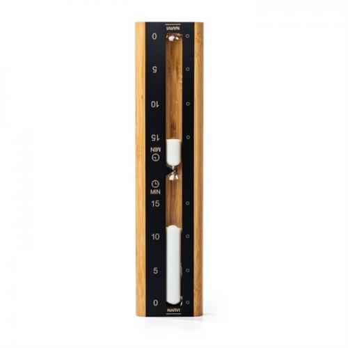 Sandur, bambu/svart aluminium, 15 min