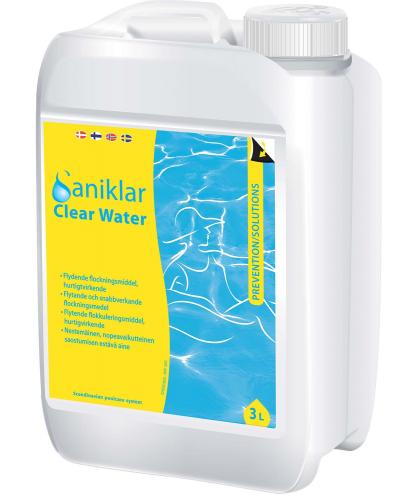Saniklar. Clear Water 3 ltr