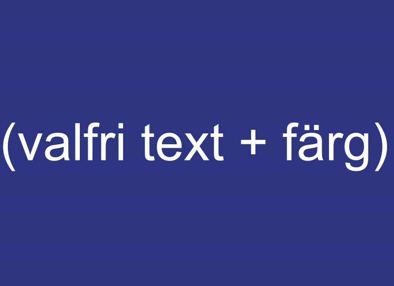 Skylt Text. Valfri text Skylt till skyltstativ 1157000