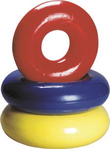 Lekring, Danfloat mh 80 cm Med handtag, uppblåsbar