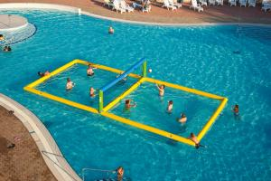 Volley inkl boll inkl. elektrisk pump