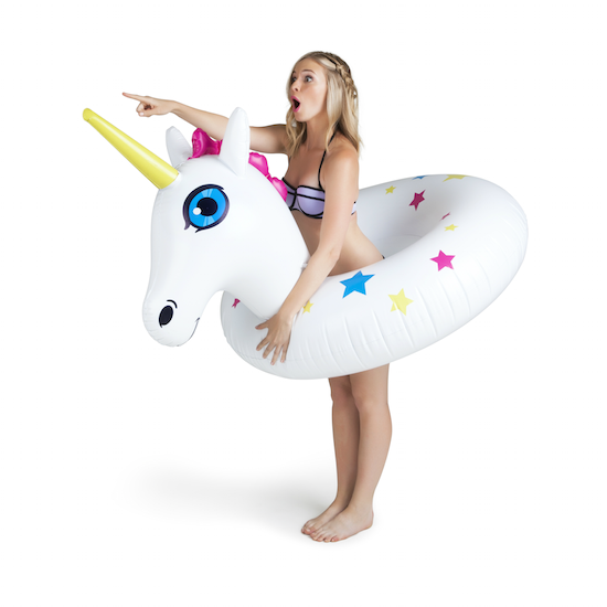 Swim ring - Unicorn with stars
