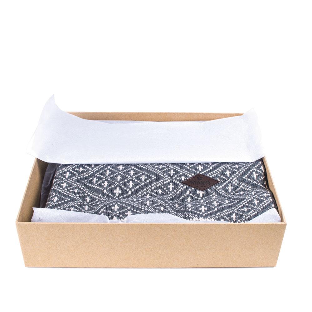 Miwo® Lupo Pläd Nordic Grey
