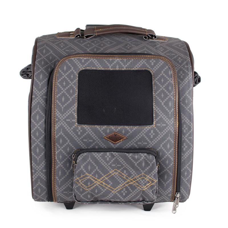 Miwo® Cocone Trolley Bag Nordic Grey Print