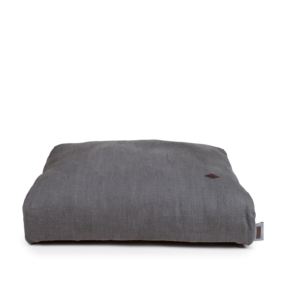 Miwo® Cossi Dog Bed French Vintage Linen Grey