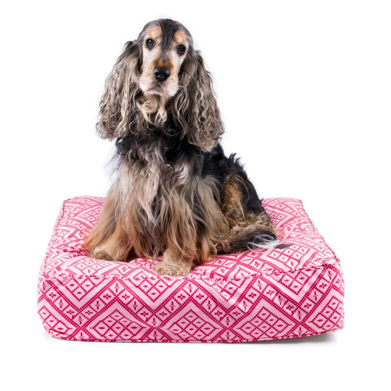 Miwo® Cossi Dog Bed Rose Print
