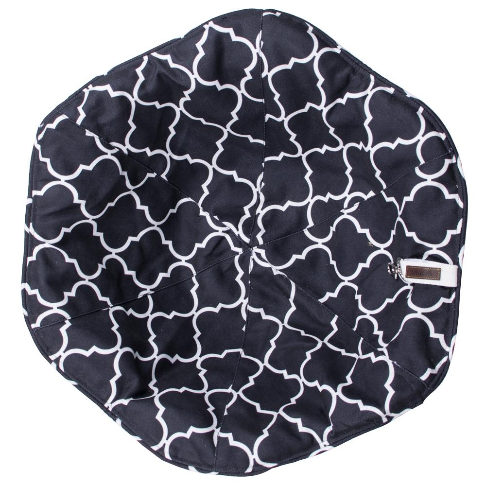 Miwo® Flower Cushion Black