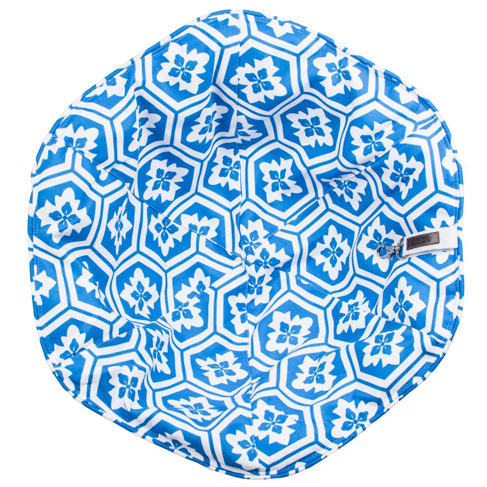Miwo® Flower Cushion Blue