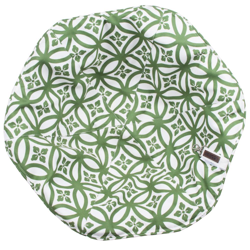 Miwo® Flower Dyna till Baboo Kattbädd Grön