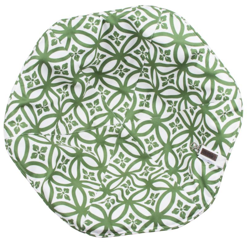 Miwo® Flower Cushion Green