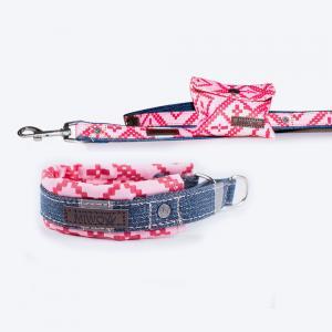 Miwo® Mila Koppel Rose Print + Hundhalsband på köpet