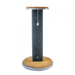 Miwo® Liden Klösträd Grålackad med Nålfilsmatta