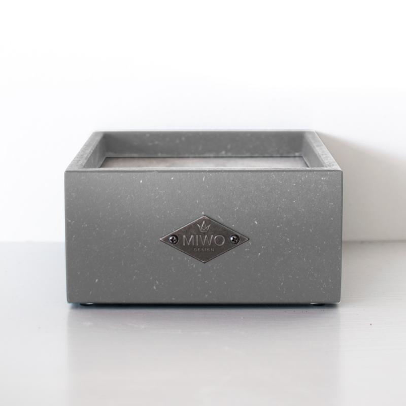 Miwo® Box Matbar ljusgrå Valchromat