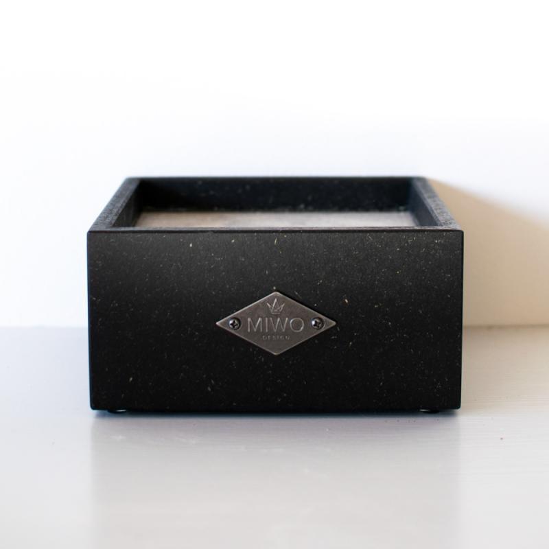 Miwo® Box Matbar Svart Valchromat