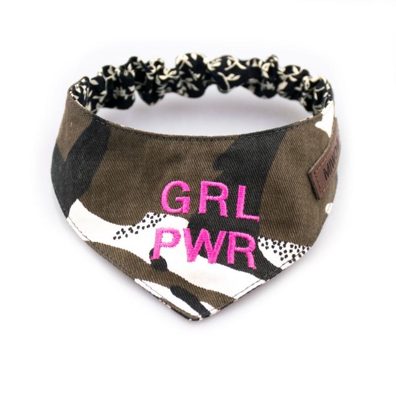 Miwo® Kila Girl Power Green Scarf / Bandana