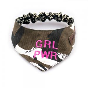 Miwo® Kila Girl Power Green Scarf / Bandana