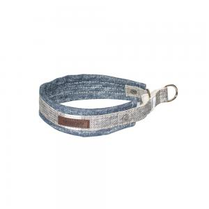 Miwo® Nomi Dog Collar Denim/Salt & Pepper