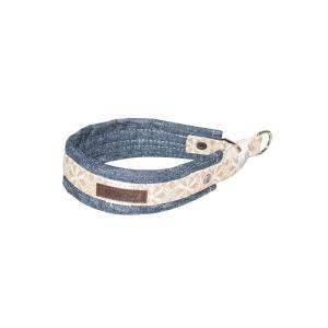 Miwo® Nomi Dog Collar Denim/Sand