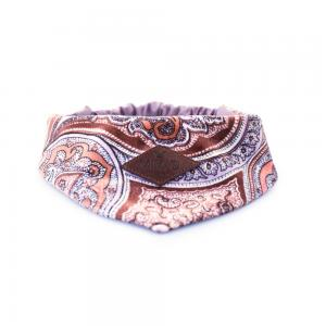 Miwo® Kila Scarf Paisley Brown / Purple