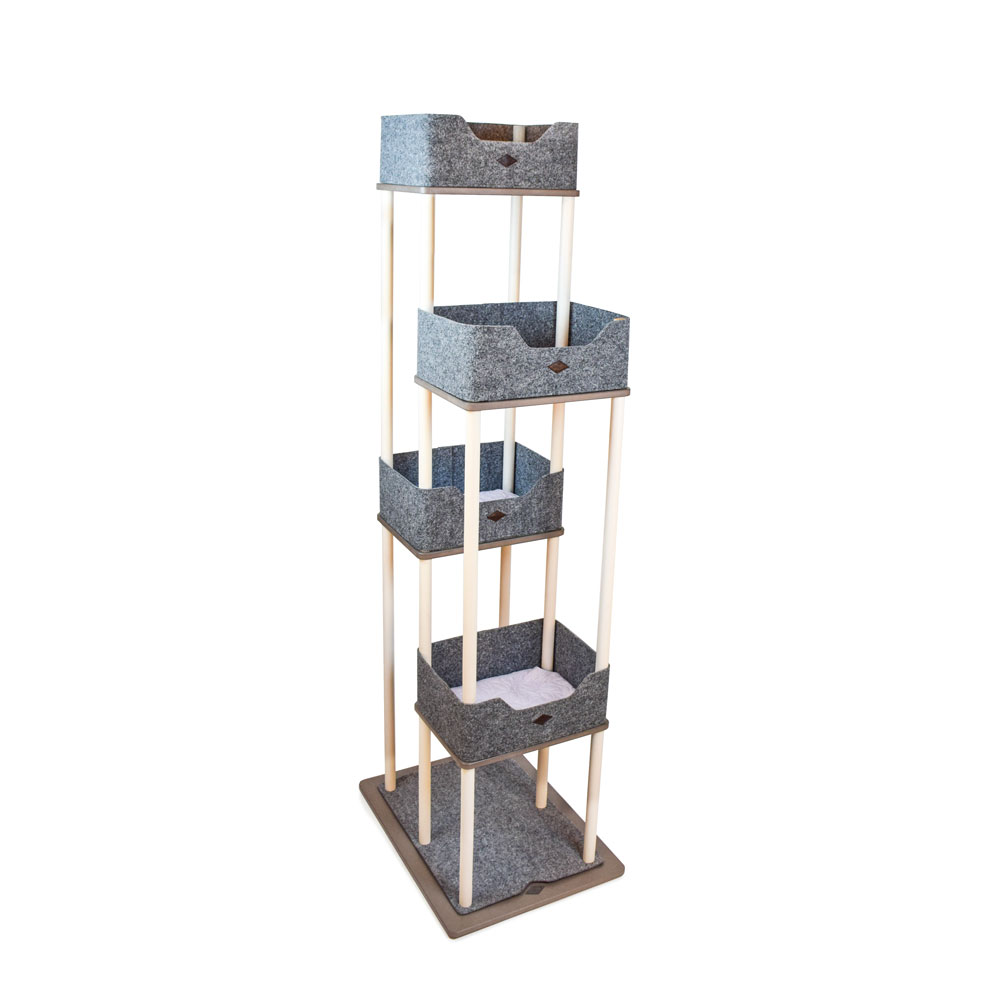 Miwo® Viken Cat Tree BIRCH/VALCHROMAT®
