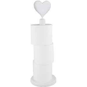 Toalett pappershållare hjärta