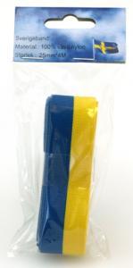 Sverigeband 25mm x 4meter