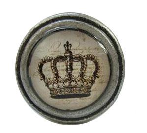 Beslag Knopp Krona
