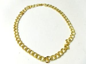 Halsband Guldfärgad kedja