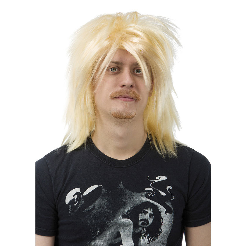 Peruk Heavy metal Blond