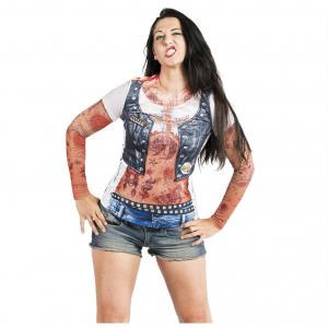 T-shirt med tryck Mc tjej