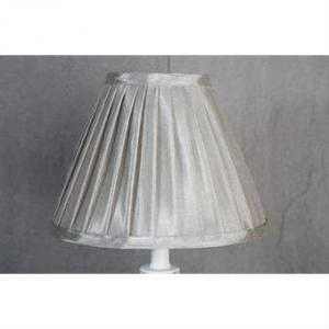 Lampskärm grå silver