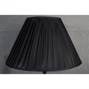 Lampskärm svart stor