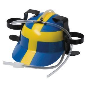 Ölhjälm Sverige flagga