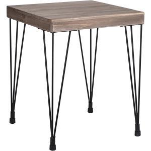 Fyrkantigt bord med koniska ben