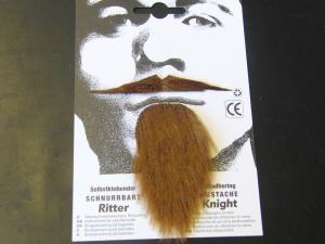 Mustasch och skägg musketör