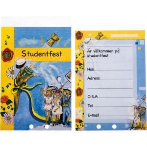 Studentinbjudan 25st A5