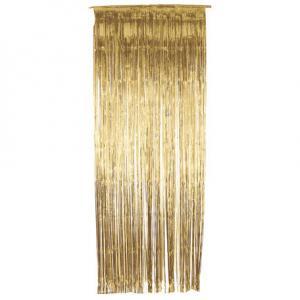 Dörrdraperi Guld 90x250cm