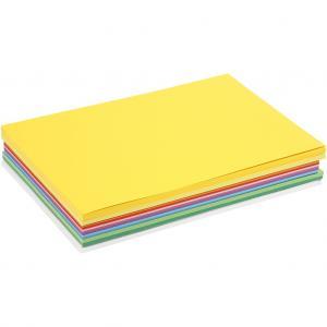 Papper vårfärger  Mix A4 30pack