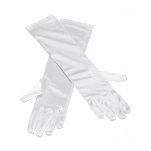 Handskar långa vita