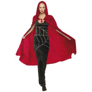 Röd Cape Halloween