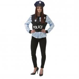 Maskeraddräkt Polis Kvinna