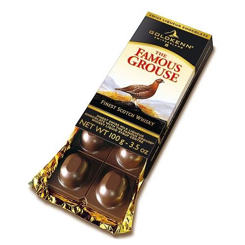 Choklad whisky Famous Grouse