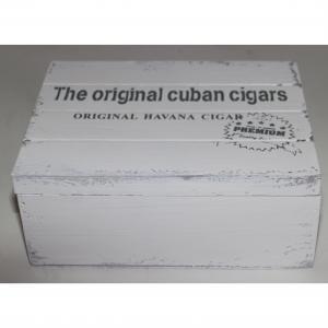 Trälåda Cigarr Vit