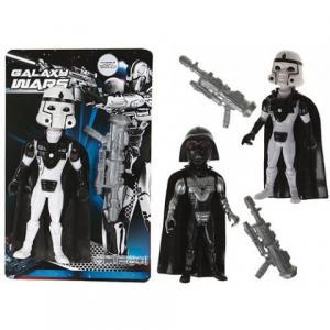 Galaxy Wars krigare svart / Vit