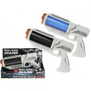 Galaxy Wars rymdpistol ljus och ljud