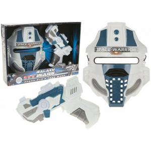 Galaxy Wars mask och pistol